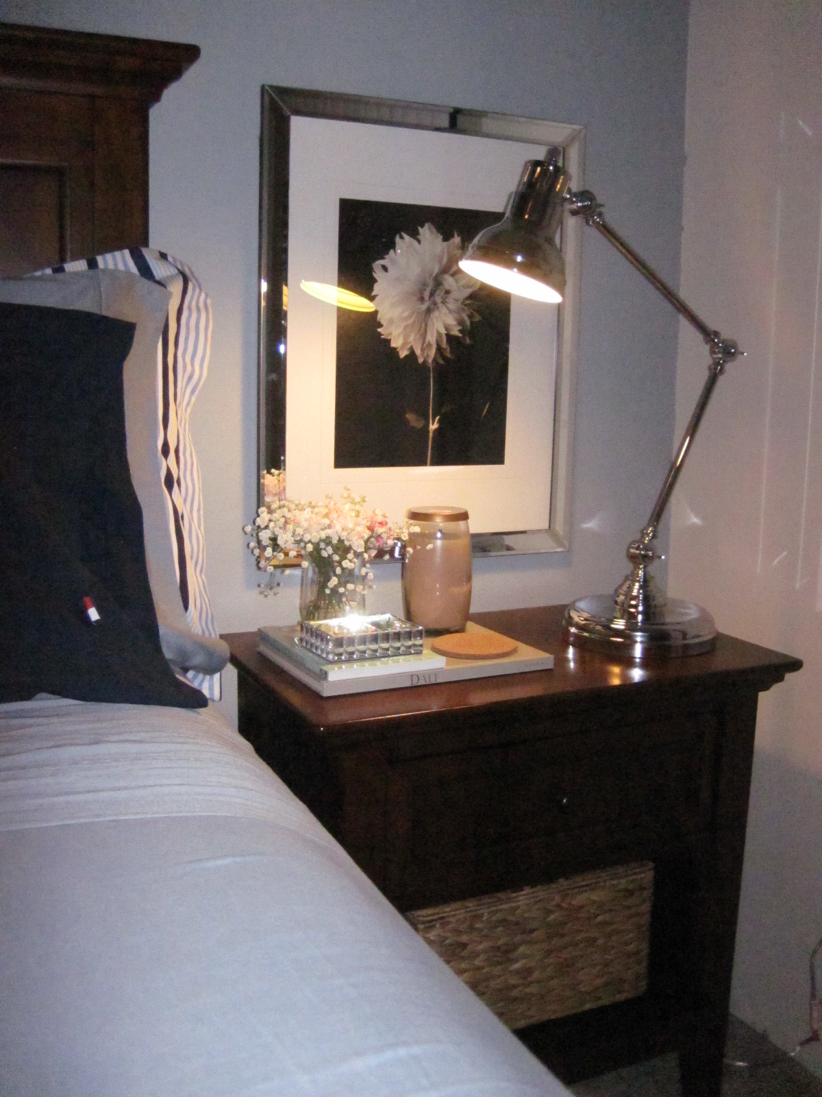 night stand havertys frame target lamp overstock mirror box home goods candle yankee candles - Mirrored Picture Frame